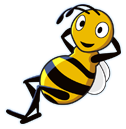 bees taxis logo