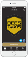 smartphone taxi booking app link